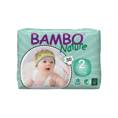 bambo diapers size 2