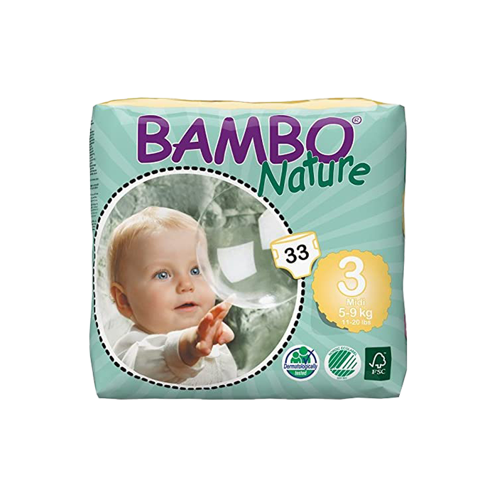 bambo diapers size 3
