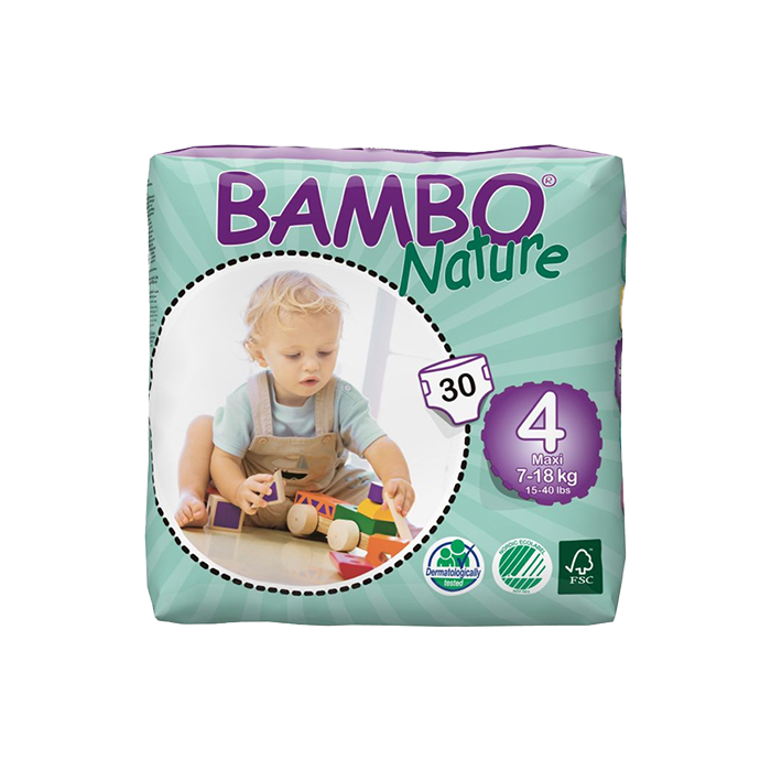 bambo diapers size 4